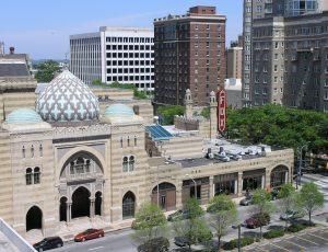 The Fox Theatre in the City of Atlanta