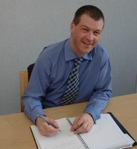 Chris Pinder: external affairs director at the NSI