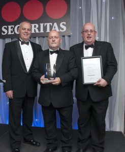 Members of the victorious JLL Millgate Shopping Centre Security Team