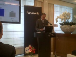 Laurent Abadie: chairman and CEO, Panasonic Europe