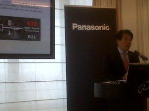 Masaki Arizono: md at Panasonic System Communications Company Europe