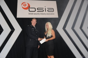 Advance Security UK's Samantha Robinson: winner in the Best Newcomer category