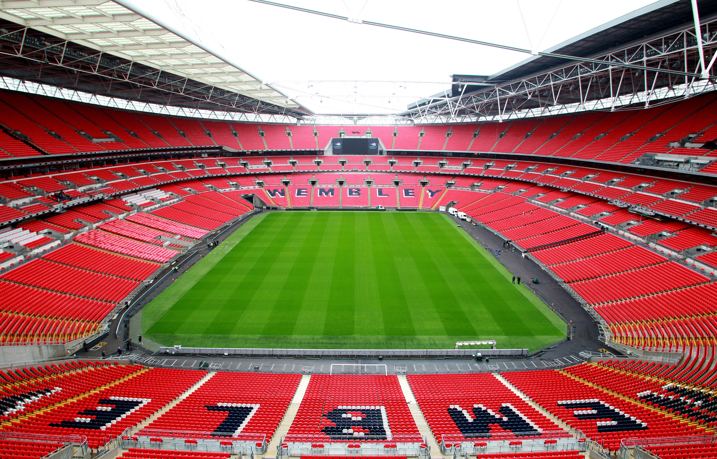 Touring Wembley Stadium