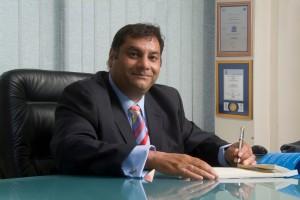 Magenta Security's managing director Abbey Petkar