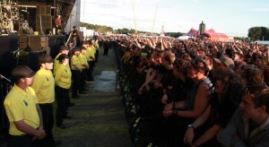 The Showsec Pit Crew at Bloodstock 2013