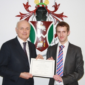 Iain Duncan Smith MP and Chris Lanchbury of Interconnective Ltd