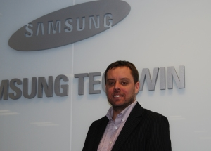 Dominic Jones: joining Axis Communications from Samsung Techwin Europe