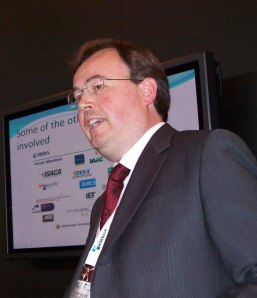 James Willison speaking at IFSEC International