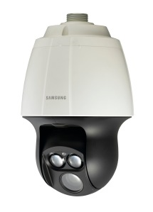 SNP-6200RH Full HD IP domes watch over the terrace area