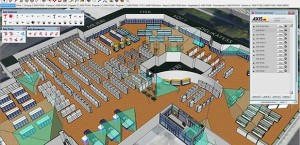 SketchUp in action
