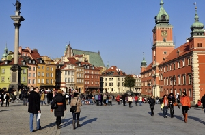 Warsaw: venue for the recent Archimedes Round Table discussions