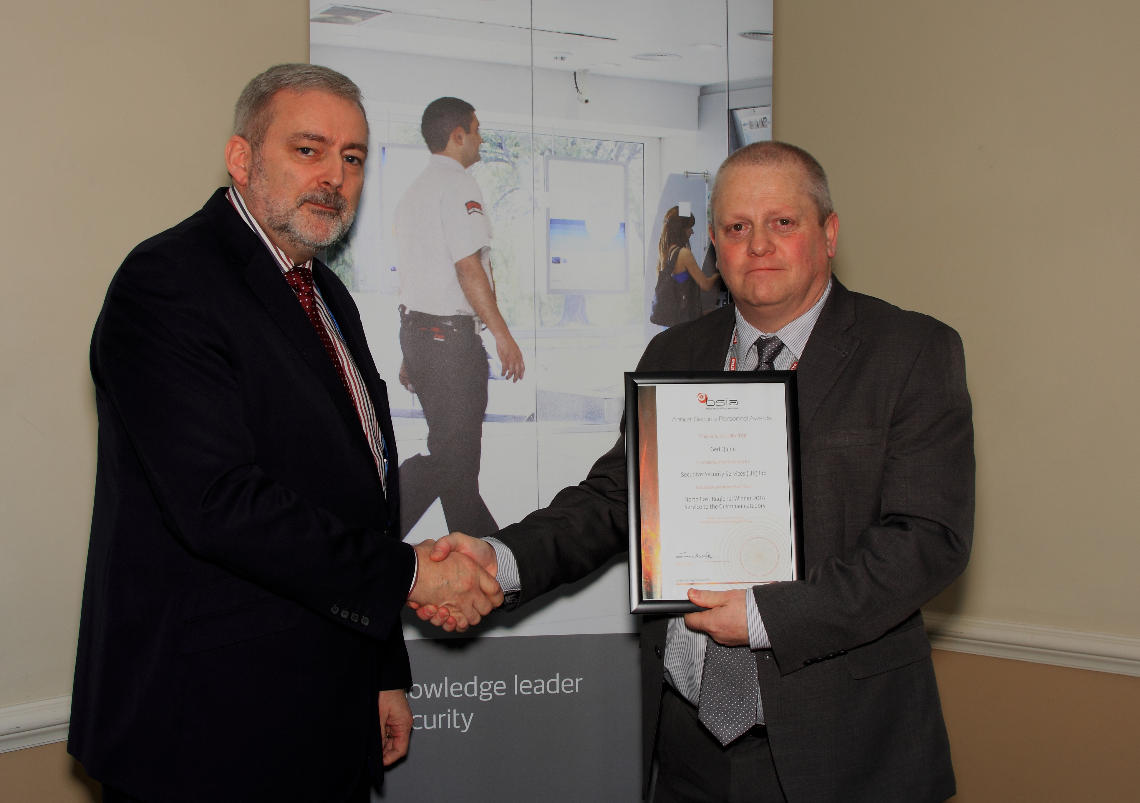 BSIA announces regional winners of Security Personnel Awards