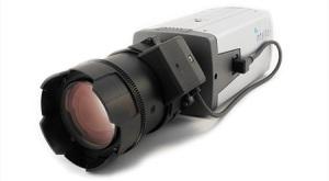 Detail of the Intellio ILD 810S camera