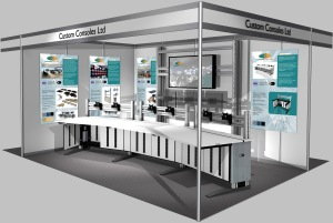 See Custom Consoles on Stand B340 at IFSEC International 2014 (17-19 June, ExCeL London)