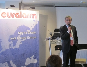 Enzo Peduzzi: chairman of Euralarm's Services Section