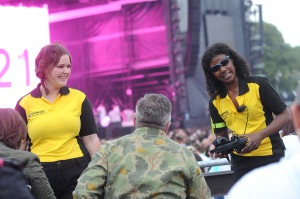 As always, the Showsec event stewarding operation was excellent and drew much praise