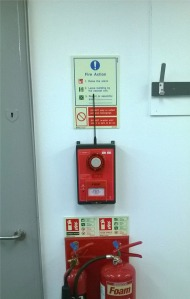 The Cygnus fire alarm Call Point in detail