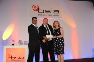 Gary Douglas and Ajaz Ahmed from Securitas Security Services