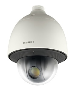 Detail of the Samsung SNP-6320 camera