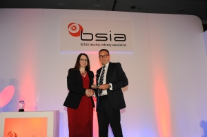 The BSIA Chairman's Award for Promoting The Industry was won by Simon Banks of CSL DualCom