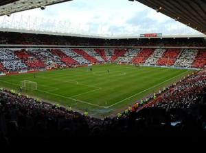 The Stadium of Light: home of Sunderland AFC