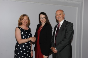 Left to Right: Baroness Smith of Basildon, Pauline Norstrom and James Kelly