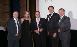 The seventh annual Ward Security Star Employee Awards were a tremendous success. Pictured (far left) is Ward Security's md David Ward, with Gareth Tancred (CEO, BIFM) second from the right