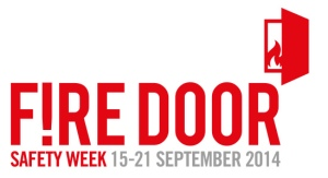 The Fire Door Safety Week 2014 logo