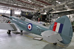 The SigniFire Video Fire Detection system has been deployed in the Battle of Britain Memorial Flight hangar