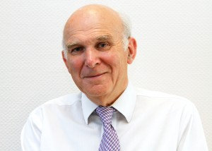 Vince Cable: Secretary of State for Business