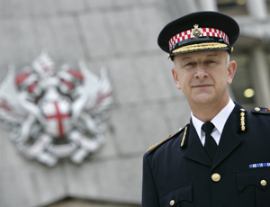 City of London Police Commissioner Adrian Leppard