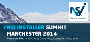 The next NSI Installer Summit takes place in Manchester on 20 November