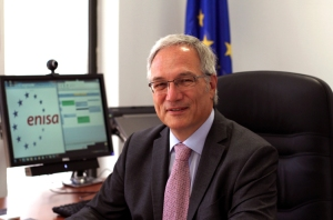 Professor Udo Helmbrecht: executive director of ENISA