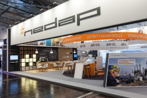 Nedap's stand at Security Essen 2014