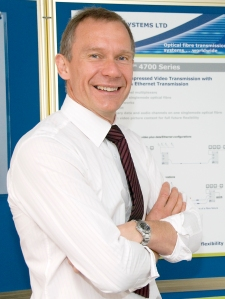 Dr Alan Hayes: founder and managing director of AMG Systems