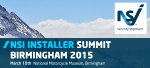The next NSI Installer Summit takes place in Birmingham next March