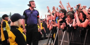 Showsec provided security management and stewarding solutions for the recent Kasabian gig at Victoria Park in Leicester