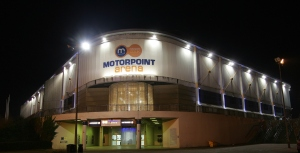 The Motorpoint Arena in Sheffield where Showsec provides security and stewarding solutions