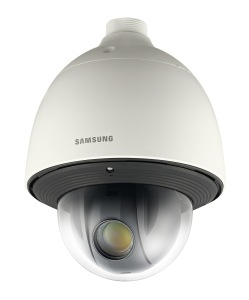 The SNP-5300H 1.3 Megapixel IP network PTZ dome camera