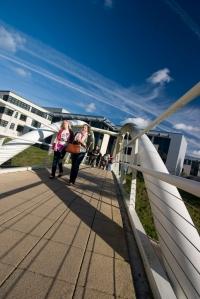 Alcuin Bridge at The University of York (copyright: Tim Ball)