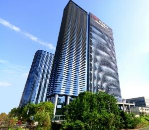 Hikvision's headquarters in Hangzhou, China