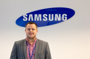 Dan England: technology partner manager at Samsung Techwin
