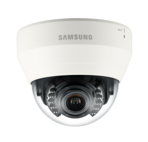 Samsung Techwin's SND-L5083R 1.3 Megapixel HD network IR dome camera with varifocal lens