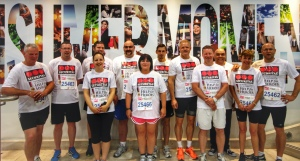 The Securitas British 10K London Run Team from 2014, who ran in aid of Help for Heroes