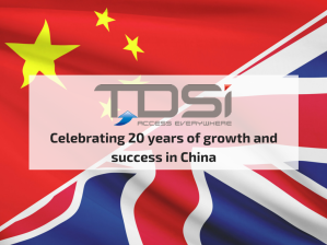 TDSi: celebrating 20 years of highly successful business activity in China
