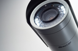 Detail of an IDIS DirectIP camera