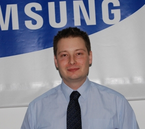 Tim Biddulph of Samsung Techwin