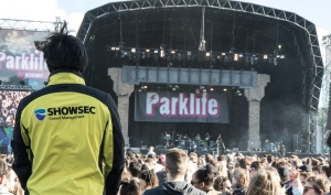 Showsec's security operation proved a great success at this year's Parklife Festival