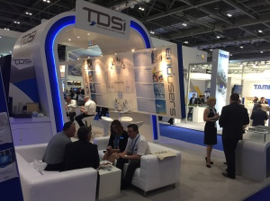 TDSi's stand at IFSEC International 2015