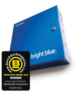 Vanderbilt's bright blue security solution has won a Benchmark Innovation Award